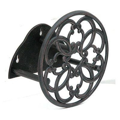 Garden Treasures Wall Mounted Reel For 100 Ft Hose