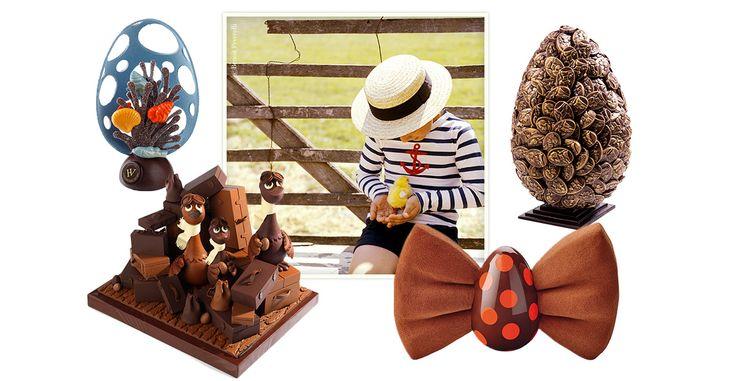 Alors que le week-end de Pâques sonne les cloches, les chocolatiers jouent de créativité pour réinventer le traditionnel œuf cacaoté. Petit tour du meilleur des adresses parisiennes pour une chasse toquée de cocos.