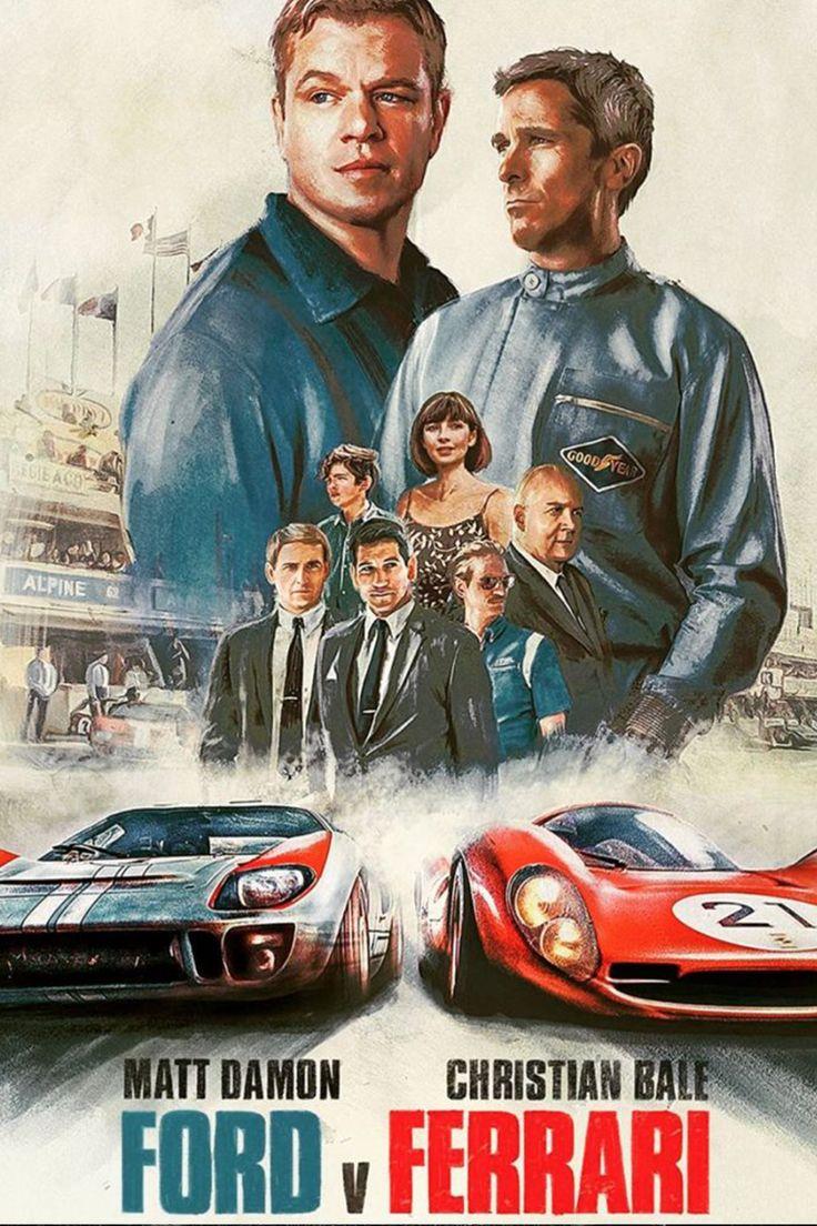 Ford V Ferrari Poster Movie Review Ferrari Poster Le Mans Ferrari