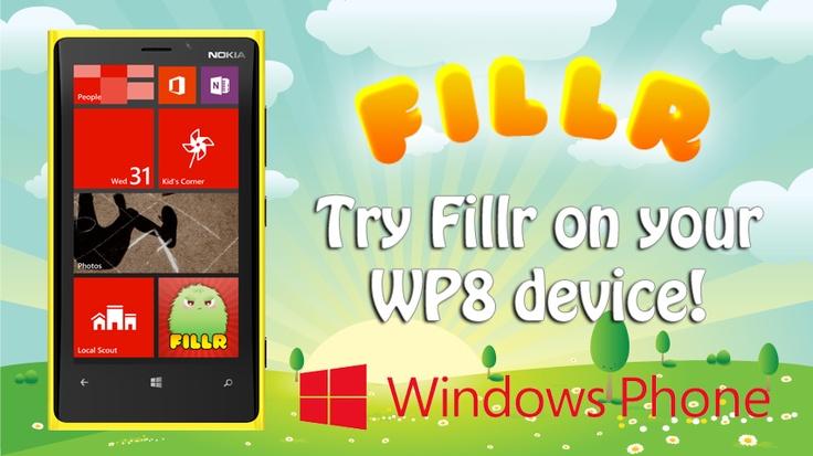 Fillr for Windows Phone 8