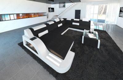 Sofa Dreams Designer Stoff Wohnlandschaft PALERMO XL LED Jetzt bestellen unter: https://moebel.ladendirekt.de/wohnzimmer/sofas/wohnlandschaften/?uid=3c9db8e8-8e49-53bc-982e-adb0998ba7ba&utm_source=pinterest&utm_medium=pin&utm_campaign=boards #sofas #wohnzimmer #wohnl #schaften
