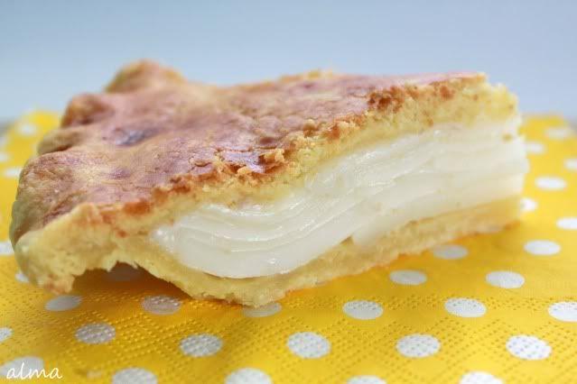 Buko Pie: A traditional Filipino baked young-coconut custard pie #yummy #dessert #pie