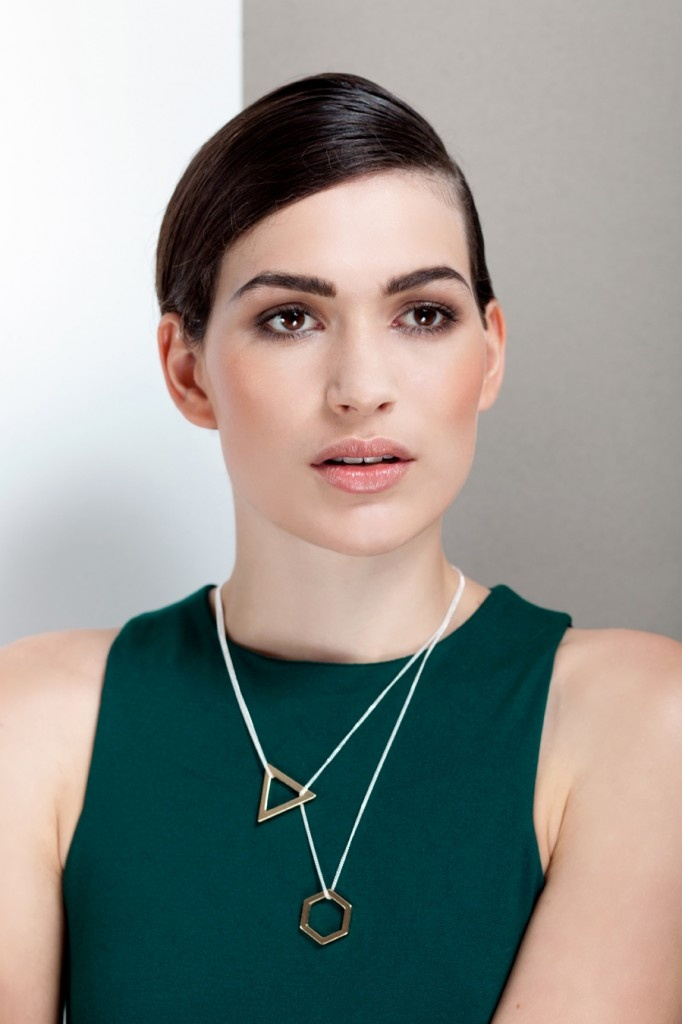 Necklace 'Cosmic' Gold Plated. Cosmic Collection. http://theboyscouts.com