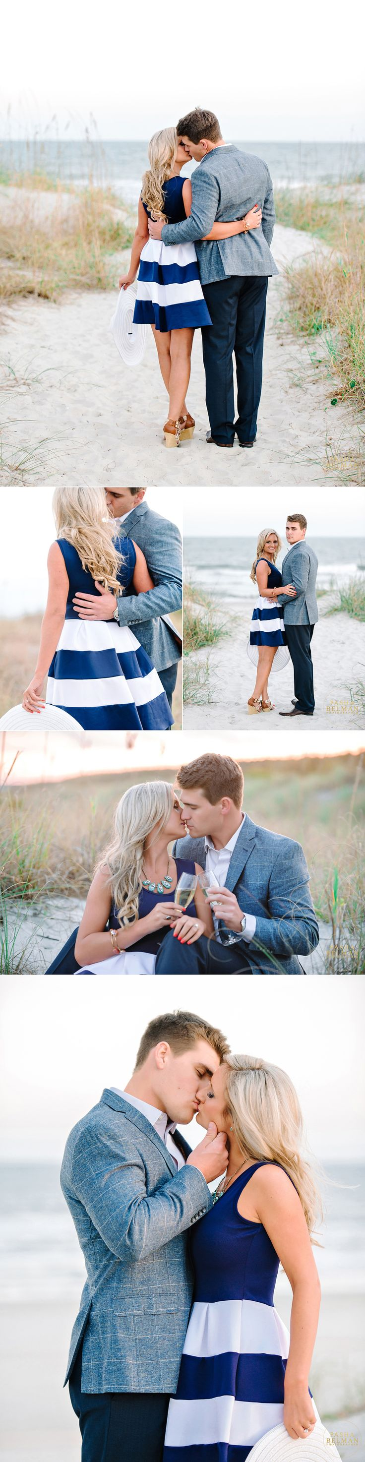 Best Engagement Shoot Poses, Favorite Poses for Engagement Shoots, Engagement Shoot Photo Inspiration in Charleston | Myrtle Beach | Wilmington | Columbia | South Carolina Photographer: Pasha Belman Photography