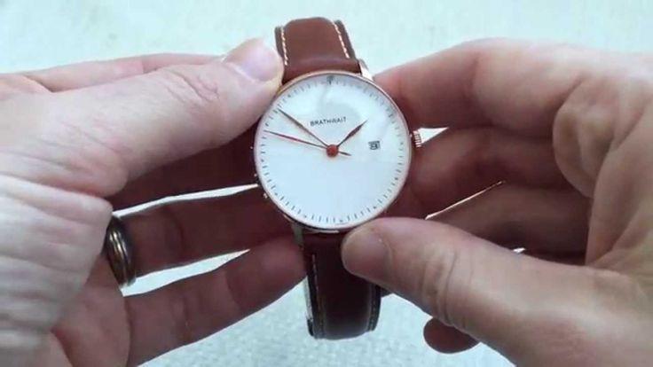 Brathwait Automatic Minimalist Watch Review