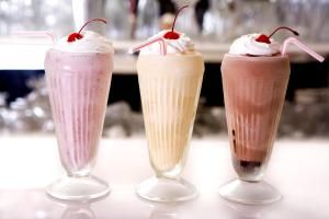 Milkshake trio - Sandra O'Claire/E+/Getty Images