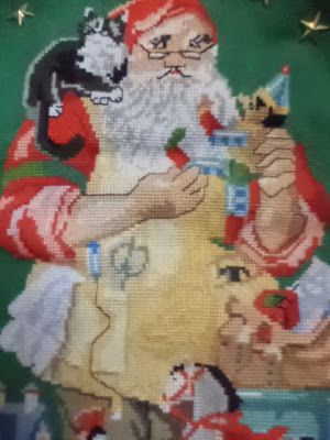 In & around my house : christmas cross stitch