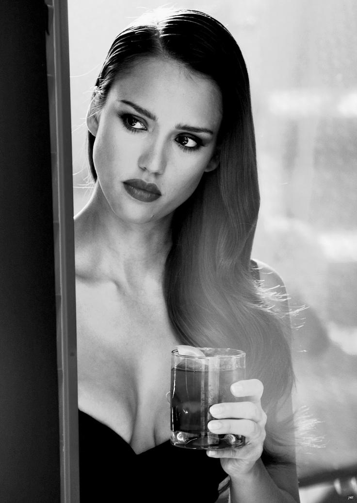 Jessica Alba for Campari Calendar Photo Shoot (Edit)