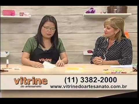 ▶ Carteira Feminina feita com Origami em Tecido com Thais Kato - Vitrine na TV - YouTube