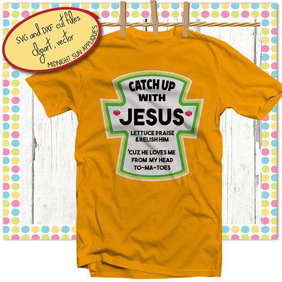 Catch up with Jesus tshirt design SVG jesus svgchristian
