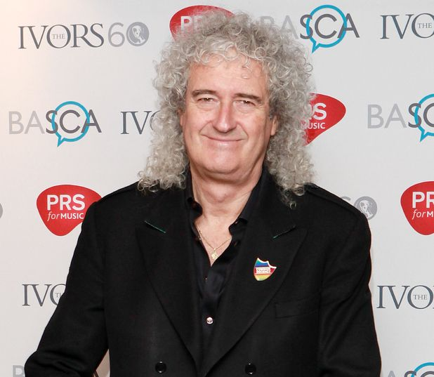 Brian May at the Ivor Novello Awards 2015 - Queen's Brian May was very angry and upset about the UK election result. #commondecency