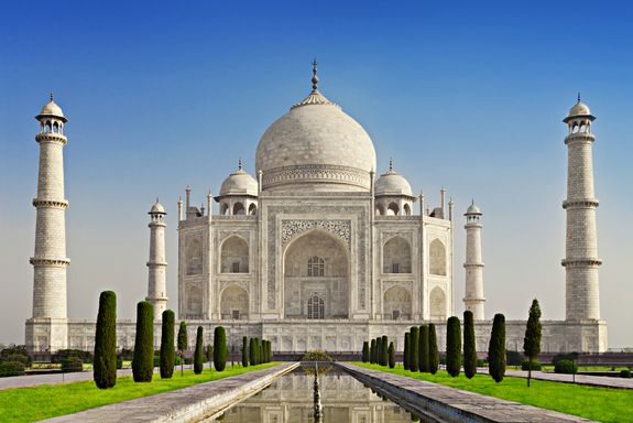 The most well-known example of Indian architecture is the Taj Mahal, built by Mughal emperor Shah Jahan to honor his third wife, Mumtaz Mahal. It combines elements from Islamic, Persian, Ottoman Turkish and Indian architectural styles.