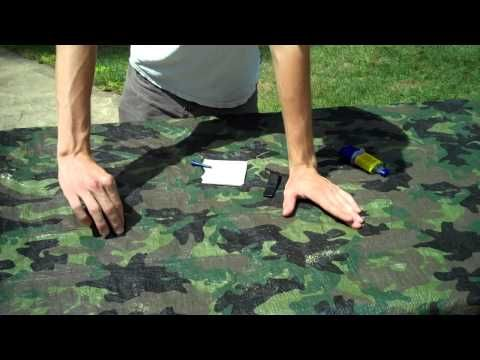 Great Upgrade to Cheap Tarps http://rethinksurvival.com/great-upgrade-to-cheap-tarps-video/