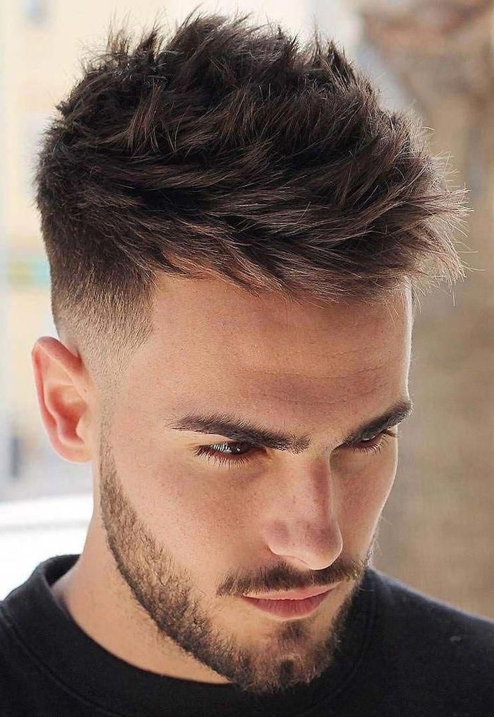Hair Dye Guide For Men Who Want To Color Their Mane Mens Hair Colour Dyed Hair Men Dyed Hair Tapered Haircut Men Hair Color Dyed Hair Men