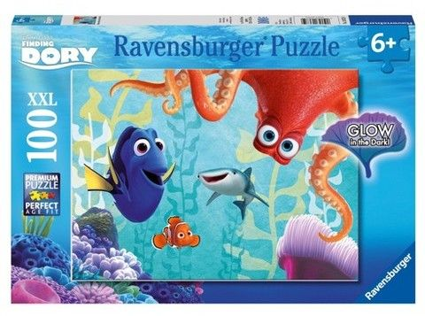 Ravensburger Disney Finding Dory - 100pc Glow-in-the-Dark Puzzle