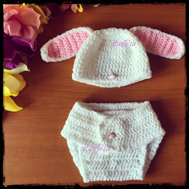 set bebe crosetat manual #crochet #handia #handmade #handiamade #bunny #babyclothes #bunnycrochet #cadou #personalizate #knit #idee #baby #babyoutfit #babyset