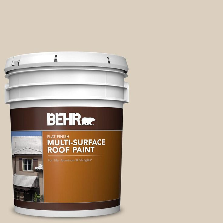 Best Behr 5 Gal Rp 13 Camelstone Flat Multi Surface Exterior 400 x 300