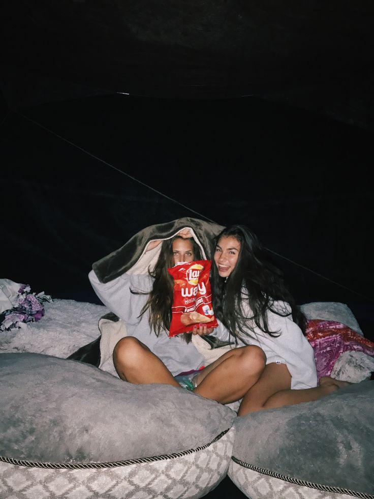 Sleeping on the tramp!  Instagram: hannah_meloche Pinterest: hannahmeloche