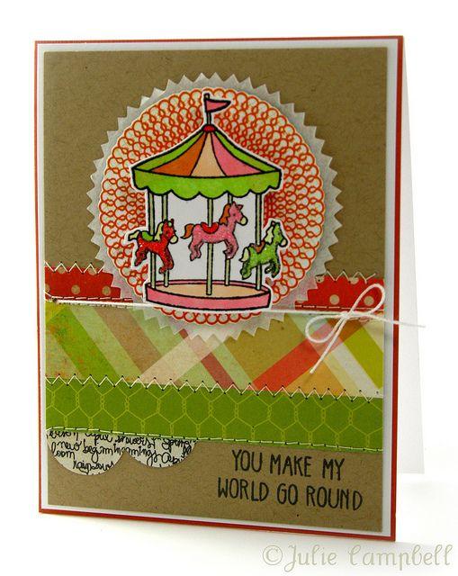 Original tarjeta diseñada utilizando el set de sellos Admit one de @Lawn Fawn :http://www.upandscrap.com/set-155-cm-x-105-cm/2335-admit-one.html