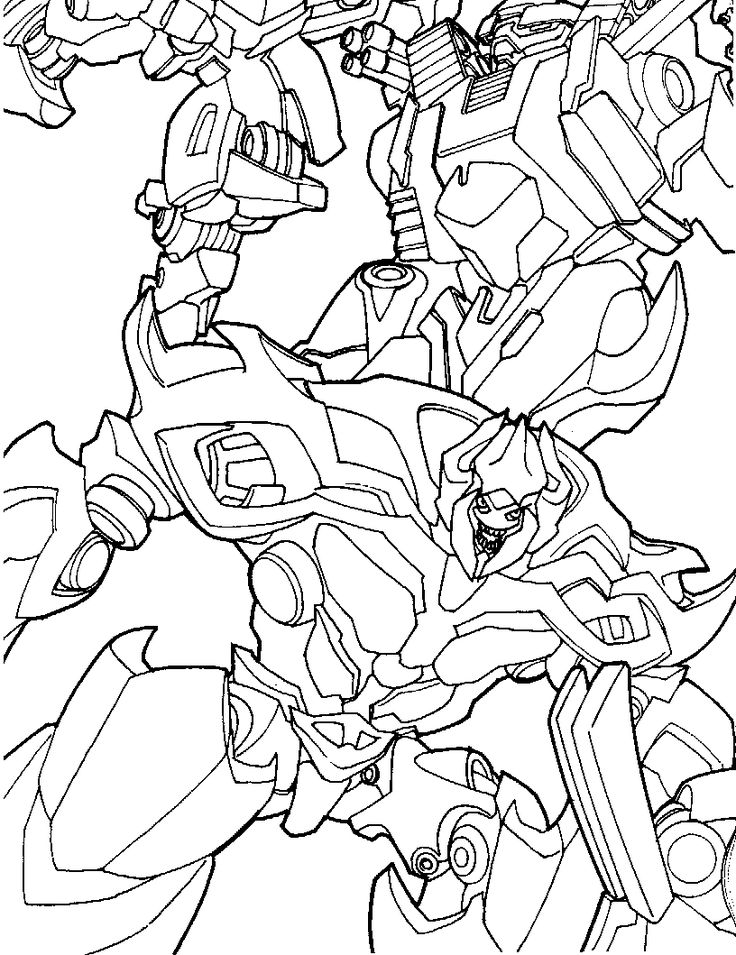 43 best Transformers Coloring Pages images on Pinterest ...