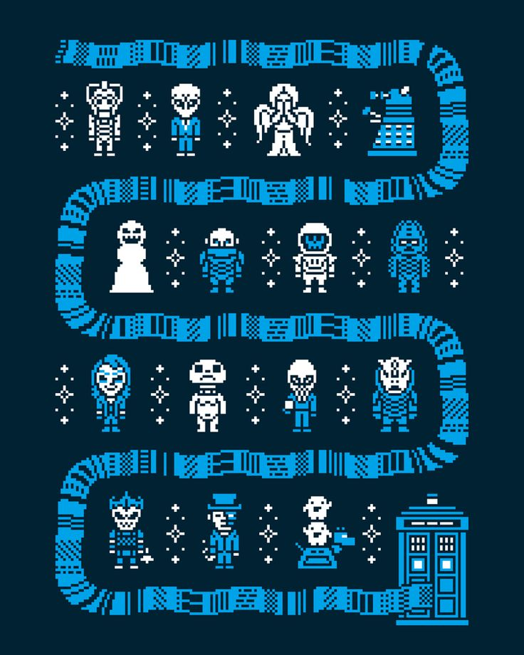 Whos Outside by Drew Wise - Dr Who