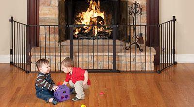 Kidco Auto Close HearthGate Fireplace Safety Gate