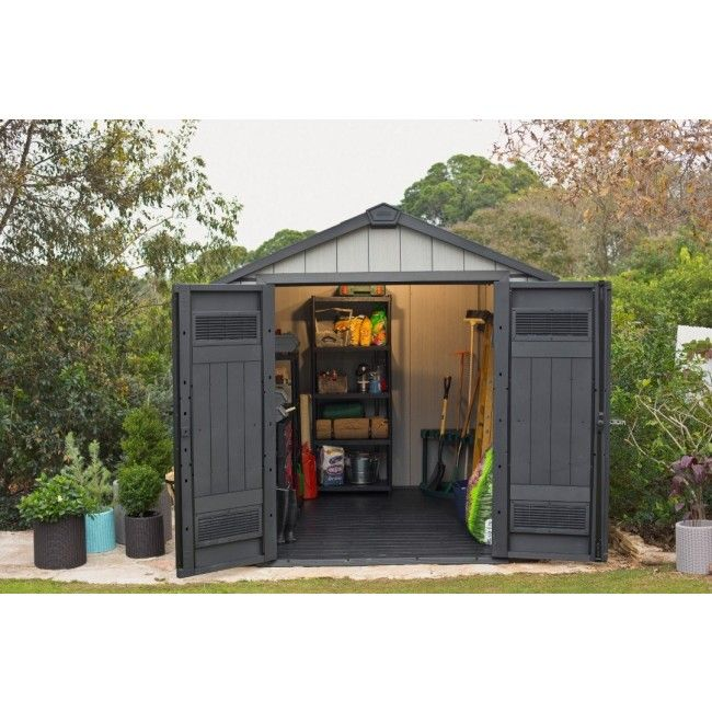 46 best images about plastic sheds on pinterest backyard for Affordable storage sheds