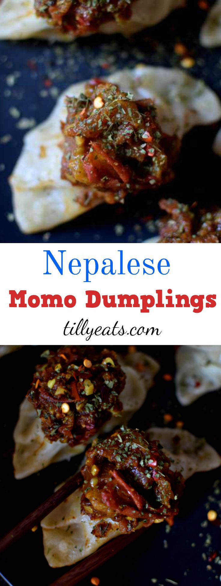 The use of coriander, cumin, turmeric, ginger in the dumpling mixture and the Tomato Chilli Chutney they're served with is what really sets these dumplings apart from any other Chinese/Japanese/Korean dumpling.   #dumplings  #nepal  #nepalese #recipe #food