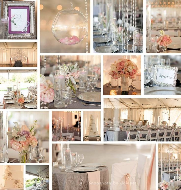 My beautiful blush & silver wedding  Real Idaho wedding  Glam & classic
