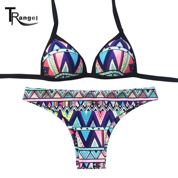 sexy Push Up swimwear Halter bikini brazilian Padding swimsuit bathing suit beachwear maillot