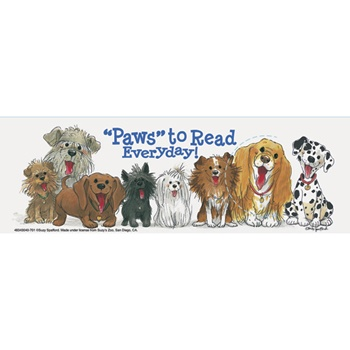 Bookmarks - Paws to Read Everyday! Wags & Whiskers