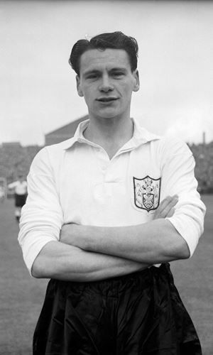 Bobby Robson of Fulham in 1962.