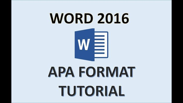 how to create apa references in word