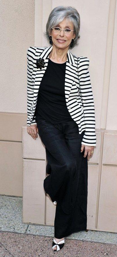 Rita Moreno 82 years old.  Talented, strong and sassy!