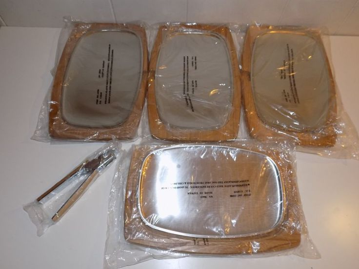 4 VPC Steak Fajita Sizzling Platters Tray Stainless Steel Wood Plates With Grip | Home & Garden, Kitchen, Dining & Bar, Dinnerware & Serving Dishes | eBay!