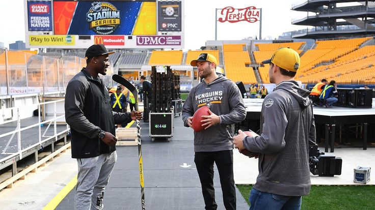 Penguins, Steelers take in Heinz Field transformation Rust and Sheary  and , Moats