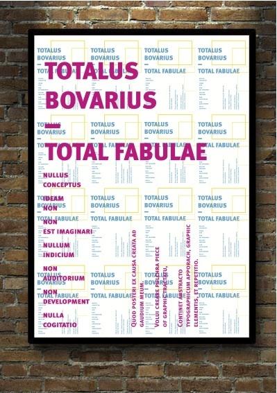 Totalus Bovarius by Grafik BS , via Behance
