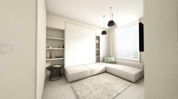 Interiér bytu v Panorama City / Panorama City flat interior