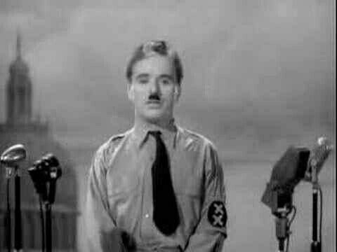 The Great Dictator's Speech I'm sorry, but I don't want to be an emperor. That's not my business. I don't want to rule or conquer anyone. I should like to help everyone - if possible - Jew, Gentile - black man - white. We all want to help one another. Human beings are like that. We want to live by each other's happiness - not by each other's misery. We don't want to hate and despise one another. In this world there is room for everyone. And the good earth is rich and can provide for…