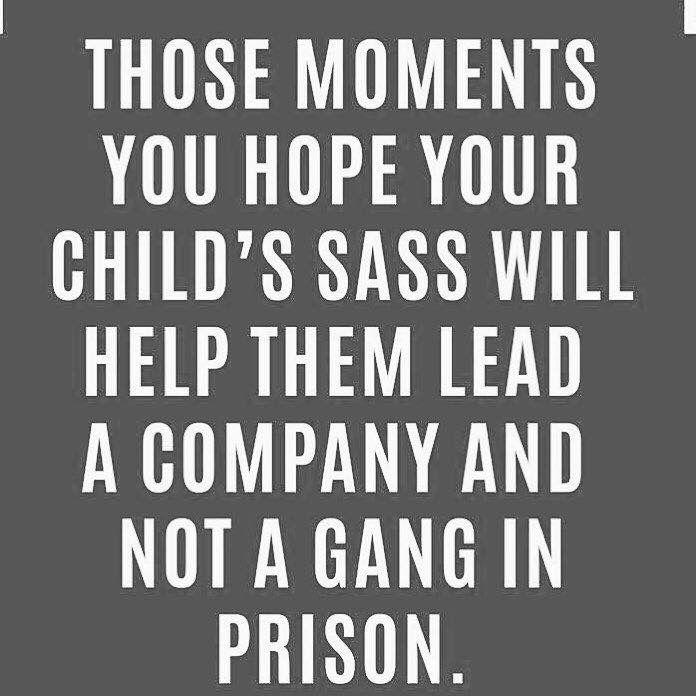 Child's sass