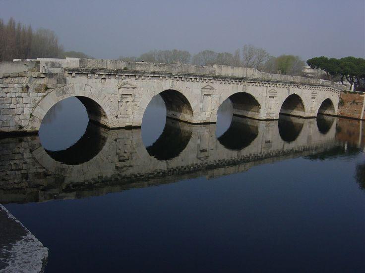 #Italy #Rimini Ponte Romano