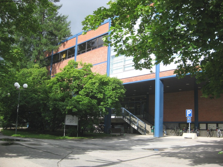 Old Campus: University Library