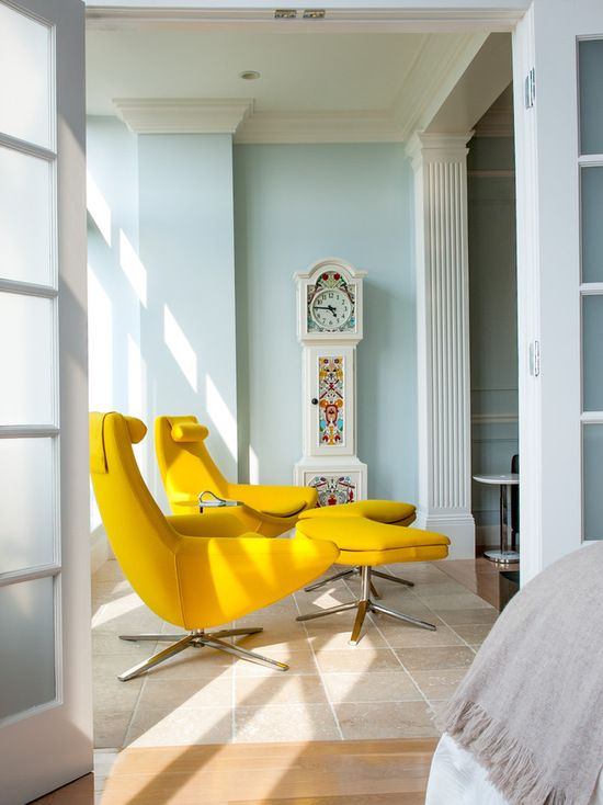 Transitional sunroom by lee kimball