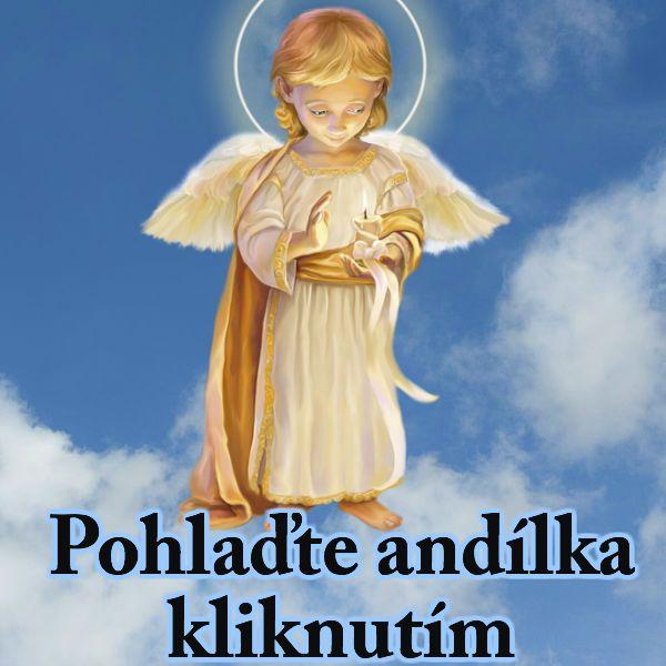 Pohlaď andílka a on ti řekne jedním slovem co tě čeká o Vánoce.