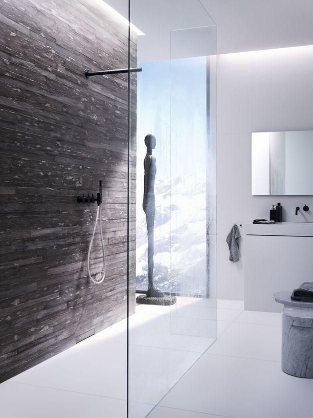 Фотография:  в стиле , Ванная, Советы, дизайн большой ванной комнаты, идеи для просторного санузла, как оформить большую ванную – фото на InMyRoom.ru