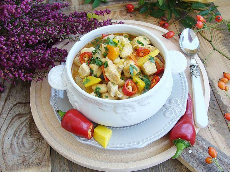 Doskonałe, rozgrzewające danie! Mięso gulaszowe plus warzywa komponują się idealnie.