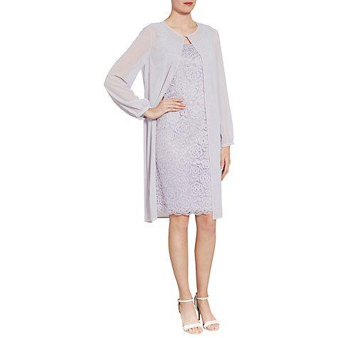 Buy Gina Bacconi Lace Dress And Chiffon Jacket Online at johnlewis.com