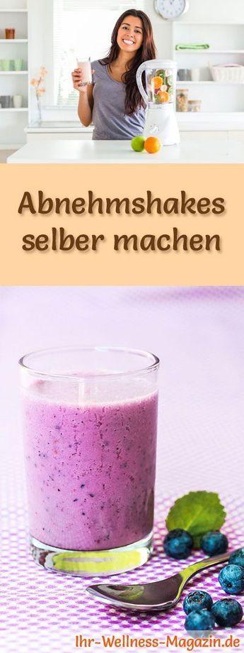 Leckere Abnehmshakes, Eiweißshakes und Smoothies zum selber machen, Rezepte mit und ohne Eiweiß, die beim Abnehmen helfen ...
