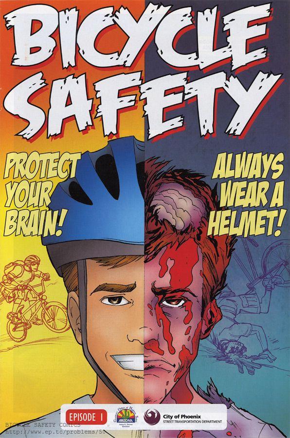 "COMICS WITH PROBLEMS #50: Phoenix Arizona ""Bicycle Safety"" Comic Books"