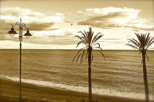 seaside. Malaga. Spain.